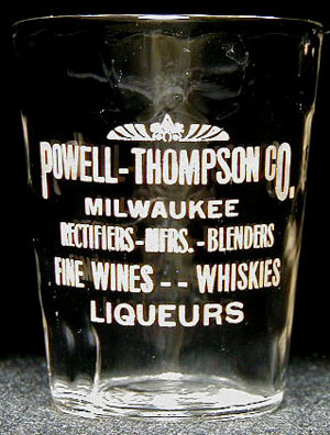 Powell-Thompson Co., Milwaukee, post-Repeal glass